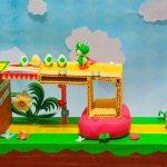 Diorama di Yoshi's Crafted World