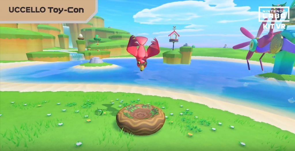 Modalità Uccello di Nintendo Labo VR