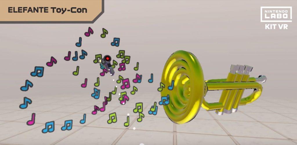 Modalità Elefante di Nintendo Labo VR