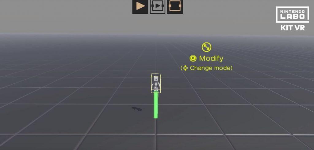 Modalità Garage Toy-Con VR di Nintendo Labo VR