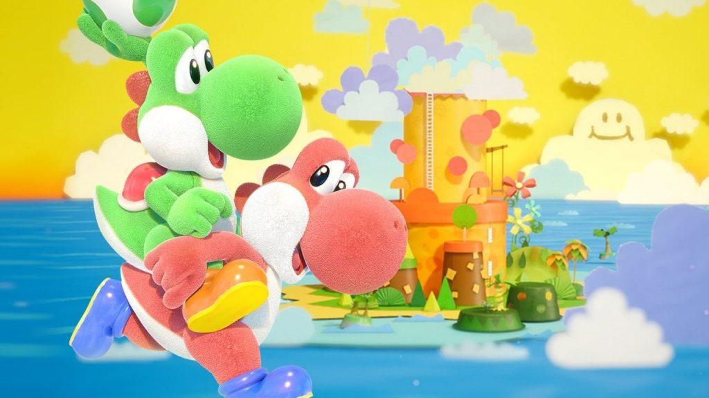Immagine pubblicitaria di Yoshi's Crafted World
