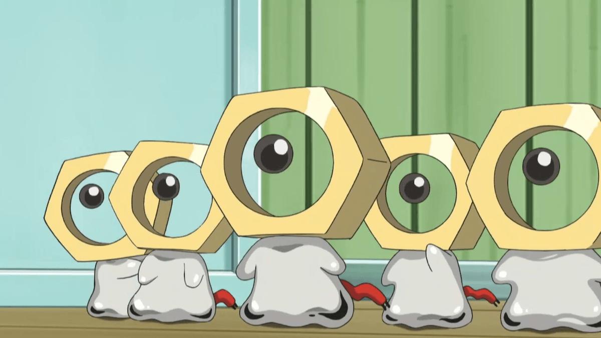 Meltan nell'anime Pokémon