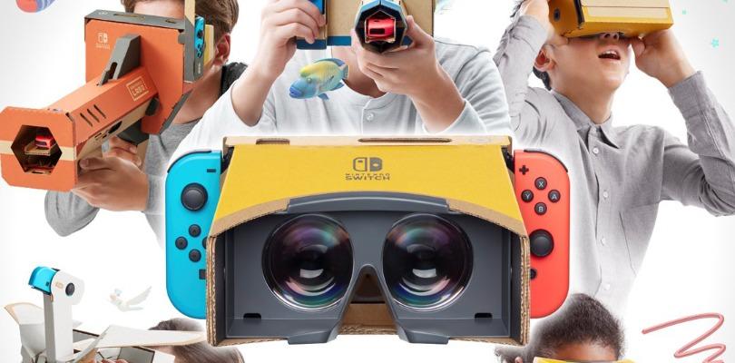 Il motore di gioco Unity adesso supporta il Kit VR di Nintendo Labo