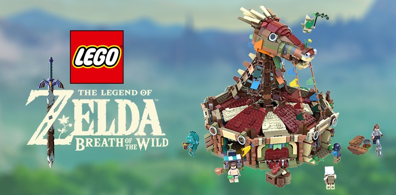 Fan ricrea gli Stallaggi di The Legend of Zelda: Breath of The Wild con i LEGO