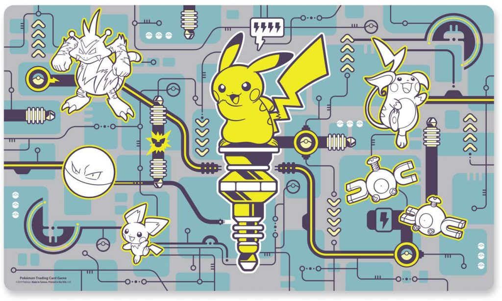 playmat pikachu