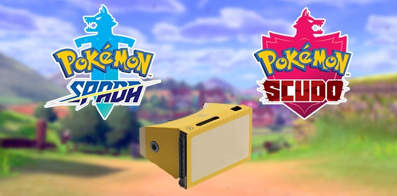 [PESCE D'APRILE] Annunciato il kit Allenatore per Nintendo Labo compatibile con Pokémon Spada e Scudo