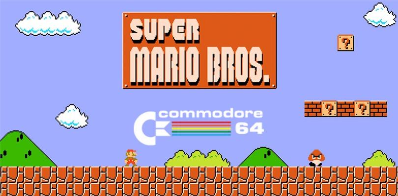 Super Mario Bros. sbarca sul Commodore 64 grazie a un fan