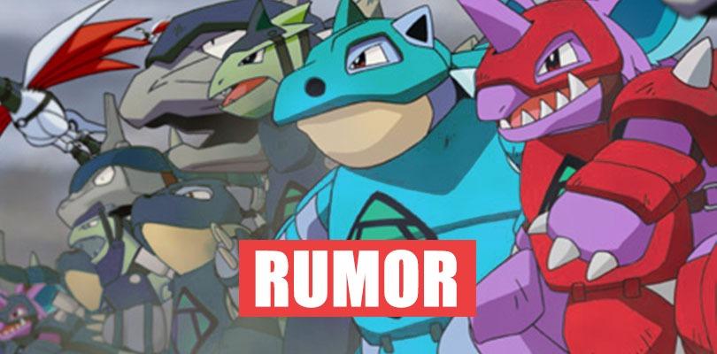 Rumor Will The Spirit Armor Be The Ultimate Mechanic Of Pokemon