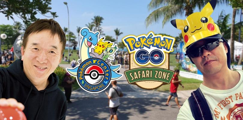 Junichi Masuda e Tsunekazu Ishihara avvistati al Pokémon GO Safari Zone di Singapore