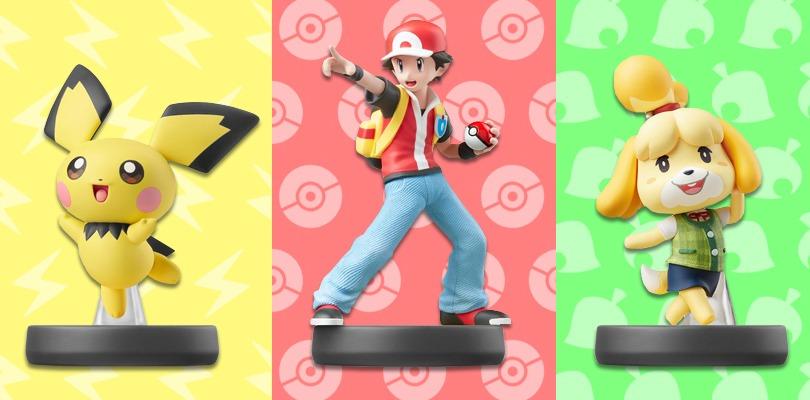 Svelata la data di uscita degli amiibo di Pichu, Allenatore di Pokémon e Fuffi