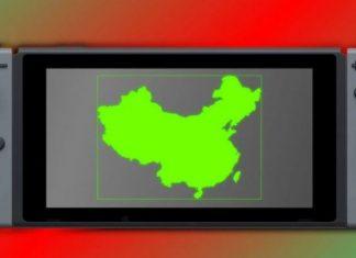 Nintendo Switch nel mercato cinese