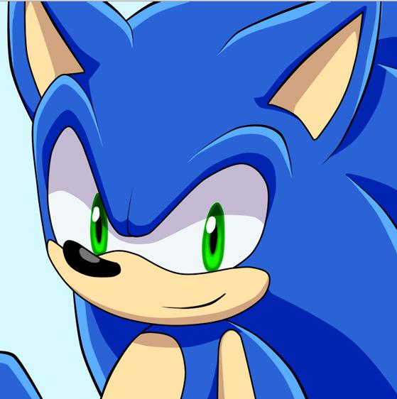 Primo piano di Sonic