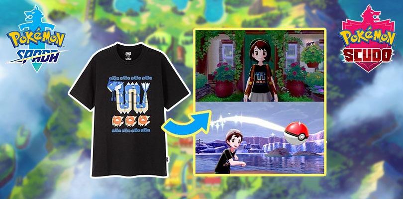 Pokémon Spada e Scudo: confermata la personalizzazione degli Allenatori, con una maglietta speciale