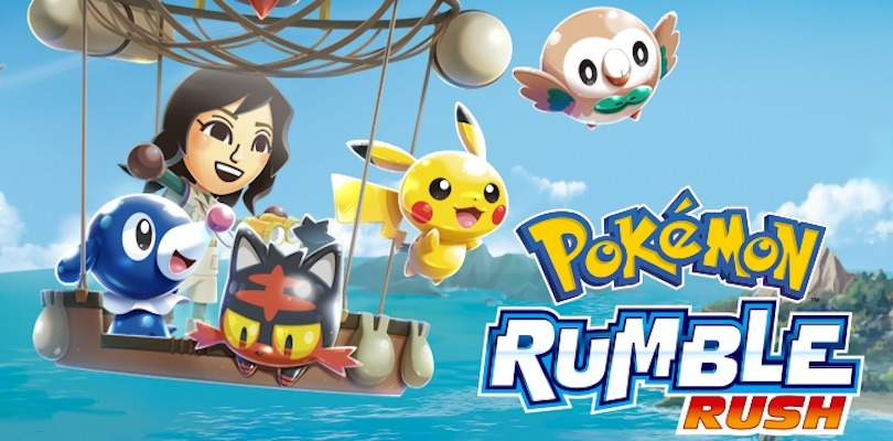 Pokémon Rumble Rush ora disponibile per iPhone e iPad
