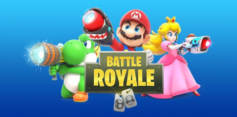 Ecco come sarebbe Super Mario se fosse un battle royale
