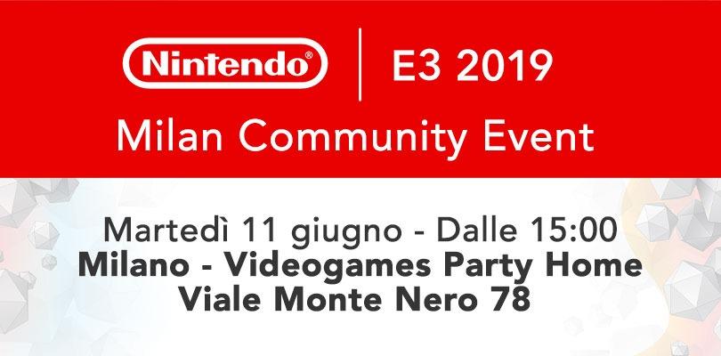 Partecipa all'esclusivo party dedicato al Nintendo Direct @ E3 l'11 giugno a Milano!