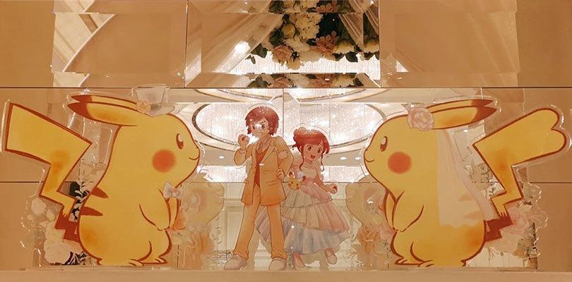 È stato celebrato il primo matrimonio ufficiale a tema Pokémon