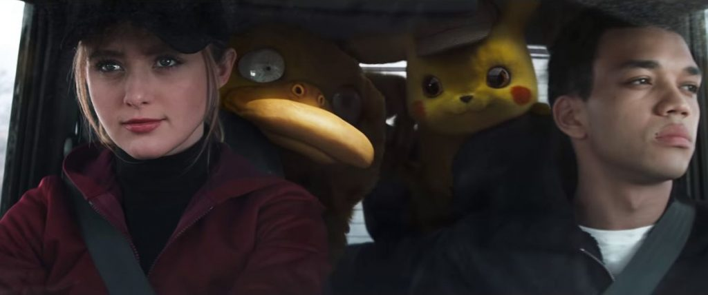 psyduck con detective pikachu
