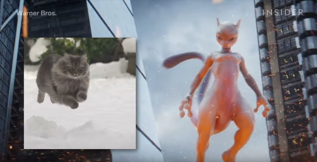 Making of di Mewtwo in Detective Pikachu
