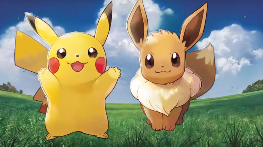 Artwork di Pikachu ed Eevee