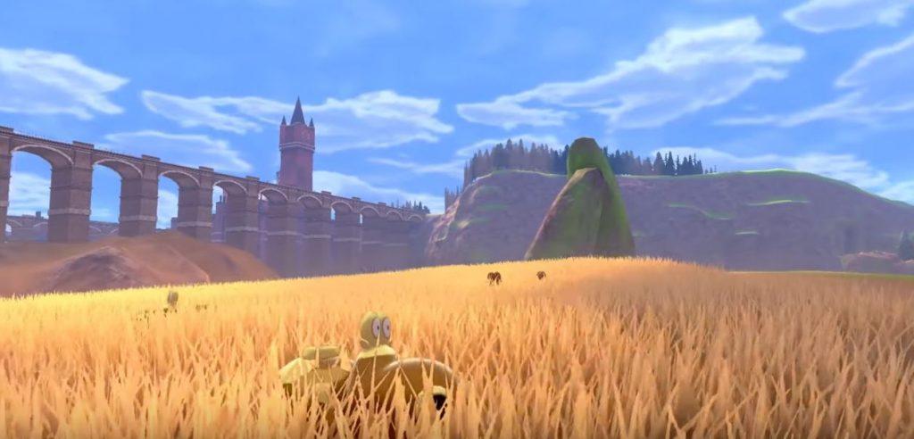 Immagine di gioco delle Terre Selvagge di Galar