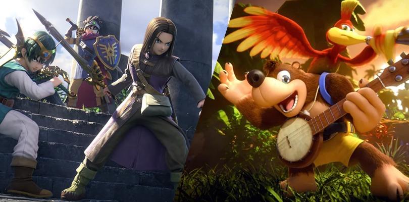 Gli Eroi di Dragon Quest e Banjo-Kazooie si uniscono alla lotta su Super Smash Bros. Ultimate!
