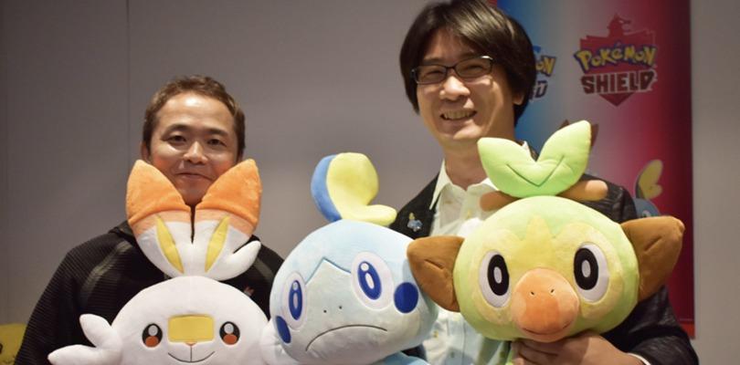 Junichi Masuda insieme a Shigeru Ohmori