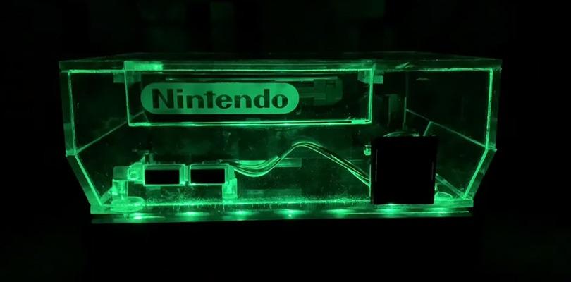 Un fan ha creato una scocca per NES completamente trasparente