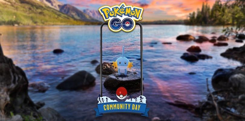 Pokémon GO Community Day Mudkip