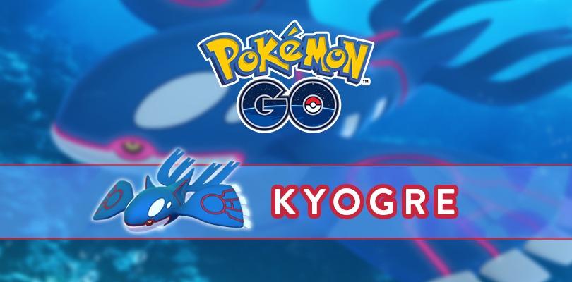[GUIDA] Come affrontare al meglio Kyogre in Pokémon GO
