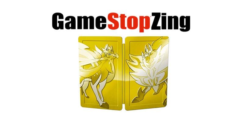 Disponibile il preordine per lo SteelBook Dual Pack di Pokémon Spada e Scudo presso GameStopZing