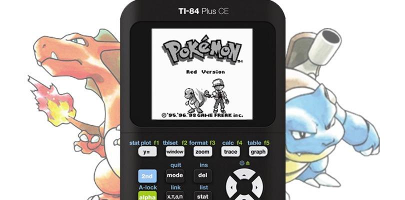Giocare a Pokémon Rosso su una calcolatrice? Sì, si può
