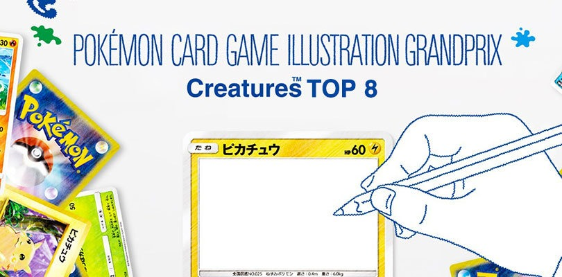 Le 8 meravigliose opere finaliste del contest di illustrazioni per il GCC Pokémon