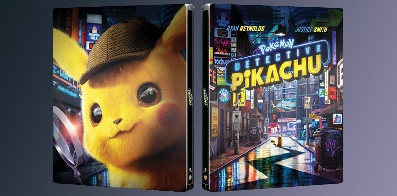 Il film Detective Pikachu uscirà anche in SteelBook edizione limitata con Blu-ray e 4K HDR