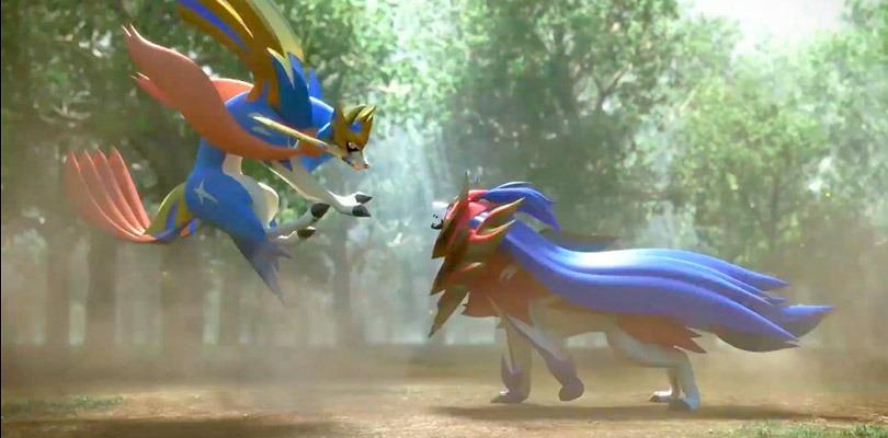Rivelati i Pokémon leggendari Zacian e Zamazenta di Pokémon Spada e Scudo