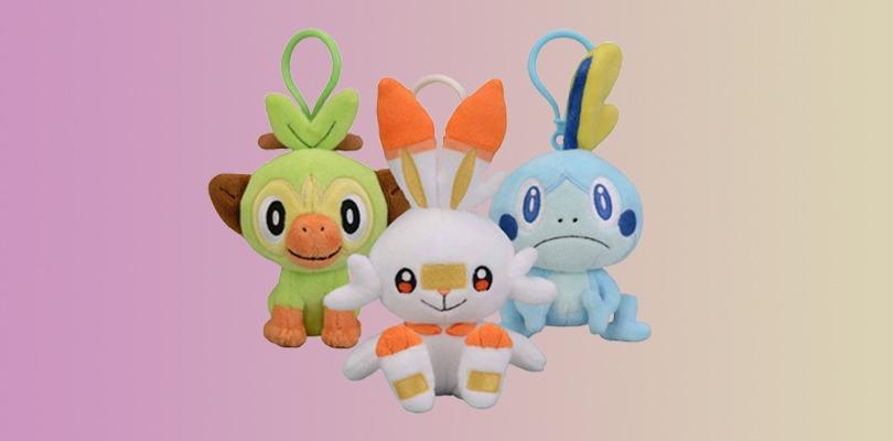 Portachiavi peluche degli starter in regalo col preordine di Pokémon Spada e Pokémon Scudo