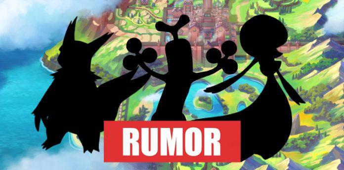 RUMOR] Galar Shapes on Pokémon Sword and Shield?