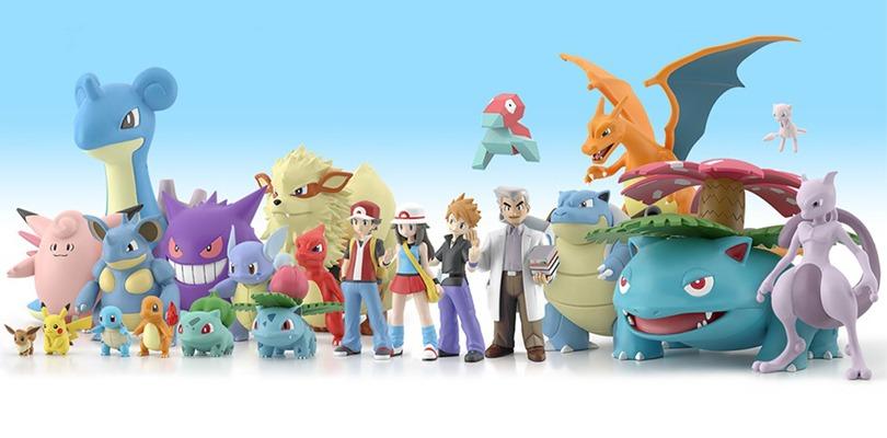 Nuove figure in scala dei Pokémon