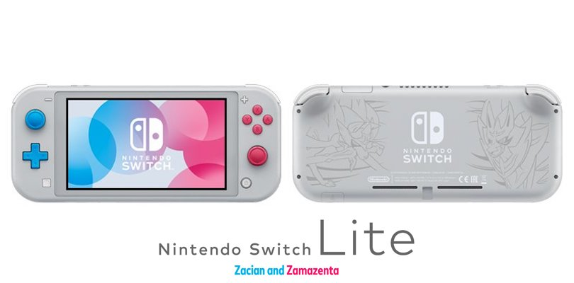 Nintendo Switch Lite Zacian e Zamazenta