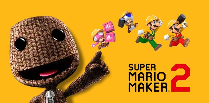Super Mario Maker 2 arriva su PlayStation 4... Grazie a Little Big Planet 3