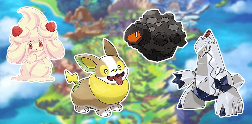 Nuovi Pokémon di Galar: Alcremie, Yamper, Rolycoly e Duraludon