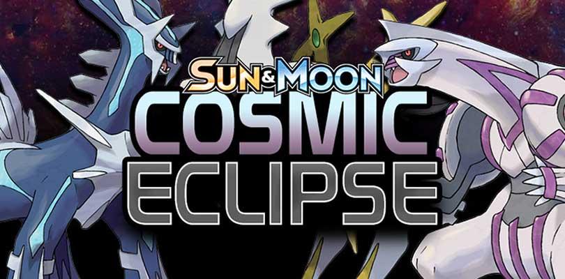 Cosmic Eclipse sarà l'ultima espansione della serie Sole e Luna per il GCC Pokémon