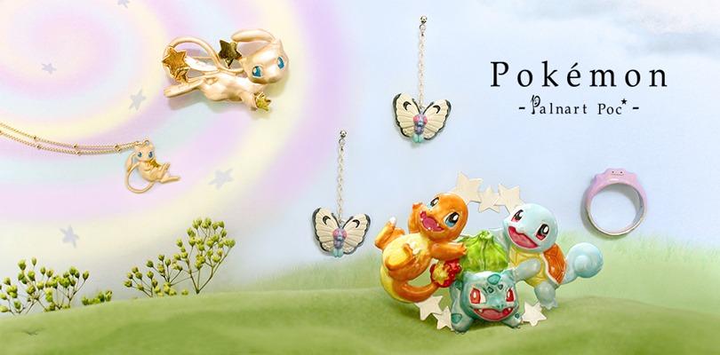 Ecco la nuova bellissima linea di pendenti, anelli e collane Pokémon firmata Palnart Poc
