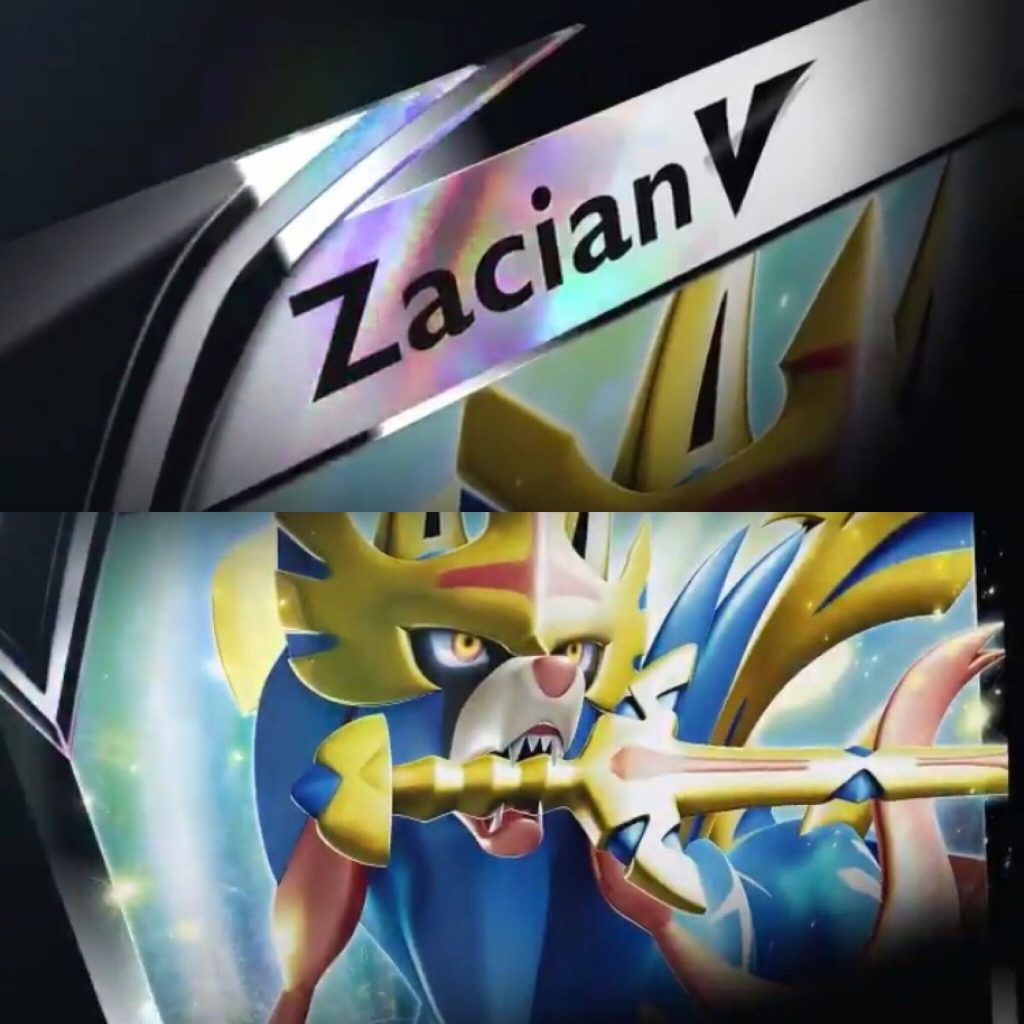 Zacian Pokémon-V