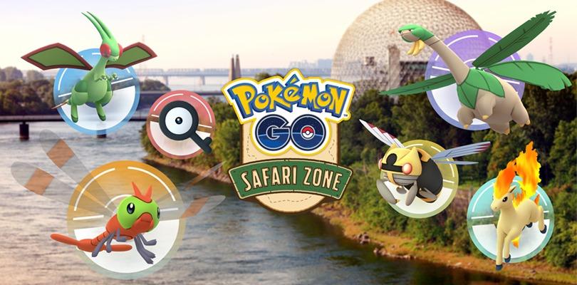 Zona Safari Pokémon GO Montreal