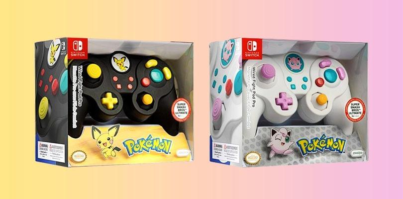 Nintendo Switch Pro Controller: in arrivo due modelli a tema GameCube di Pichu e Jigglypuff