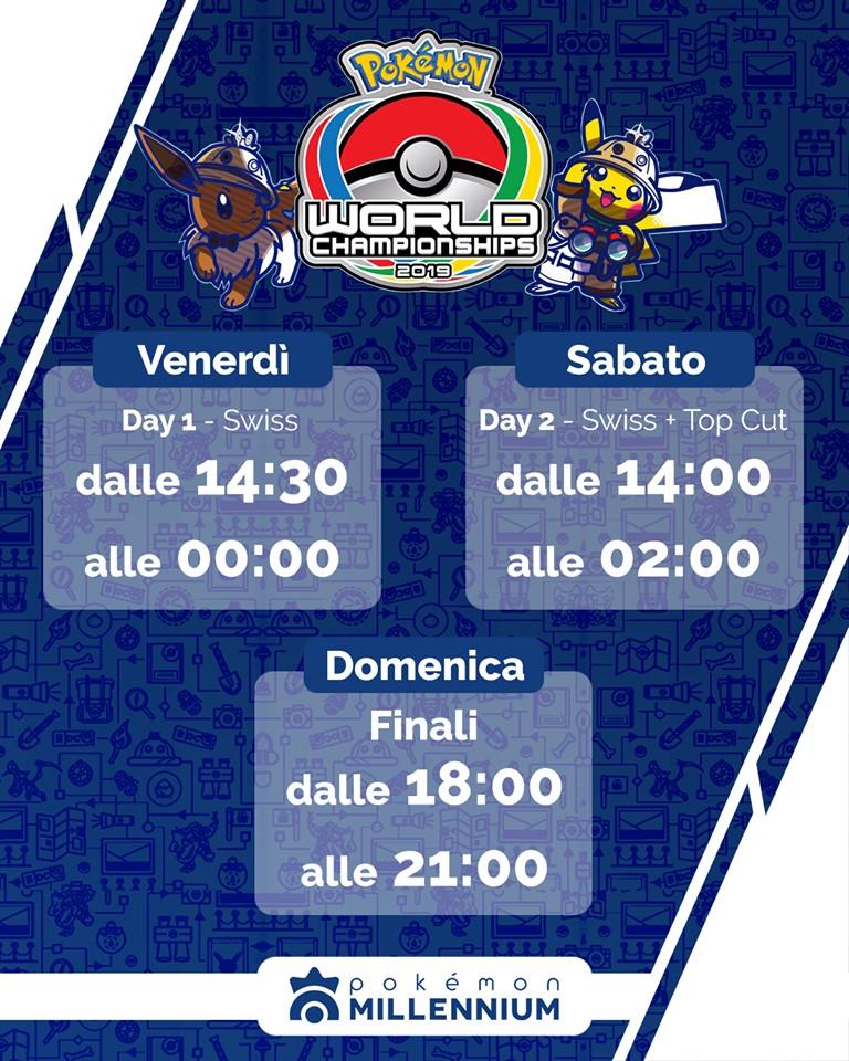 Programma Campionati Mondiali Pokémon