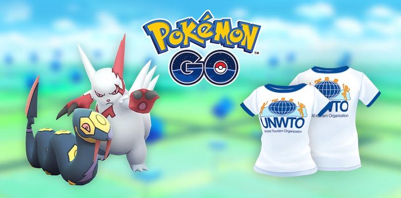 Giornata Mondiale del Turismo Pokémon GO