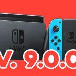 Nintendo Switch aggiornamento 9.0.0