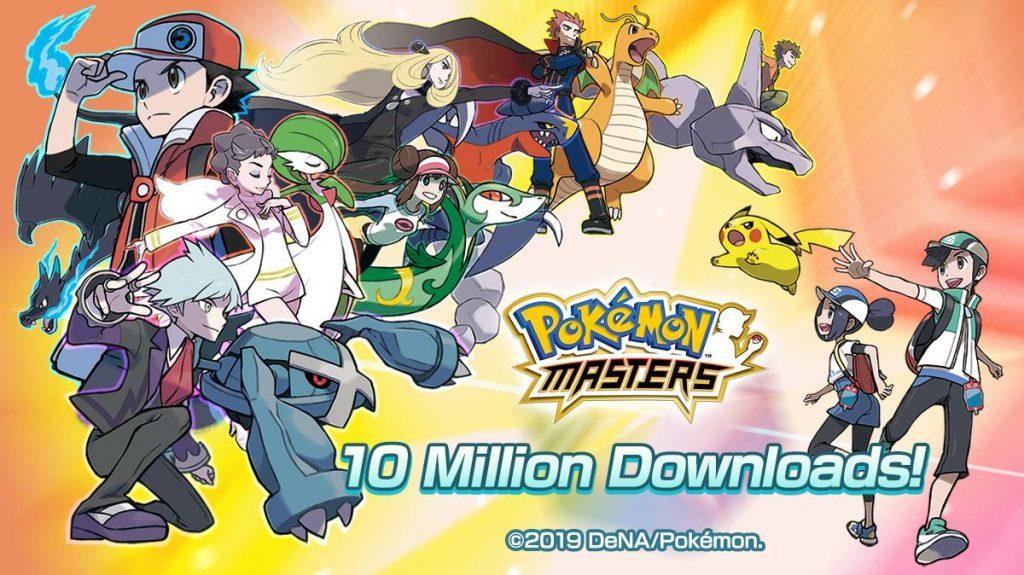 Pokémon Masters 10 milioni download